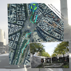 Paris City Office – Sound quality assessment of place de La Bastille - sunday - multimedia