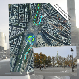 Paris City Office – Sound quality assessment of place de La Bastille - day - multimedia