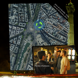 Paris City Office – Sound quality assessment of place de La Bastille - night - multimedia