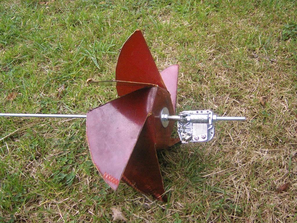 objet fonctionnant avec le vent